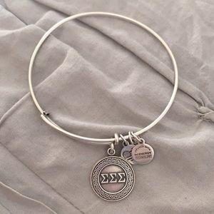 Alex & Ani RETIRED Tri Sigma bracelet